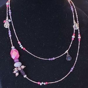 "Silpada N2348 ""Fruit Basket"" Pearls Beads Necklace"